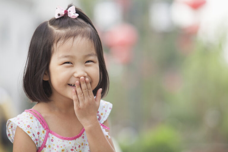Väärinymmärrys saa pienenkin lapsen nauramaan.