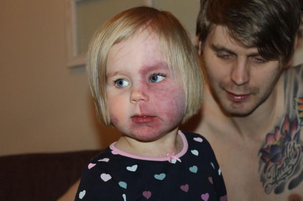 3-vuotias synttärisankari