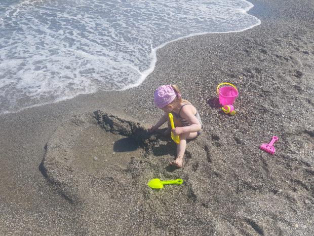 Amalia rannalla