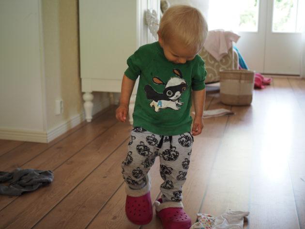Milo ja äidin kenkulit