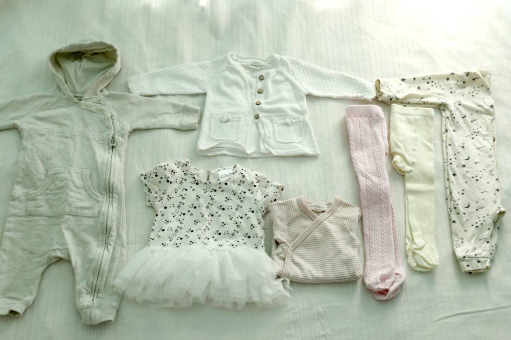 vauvalle vaatetta