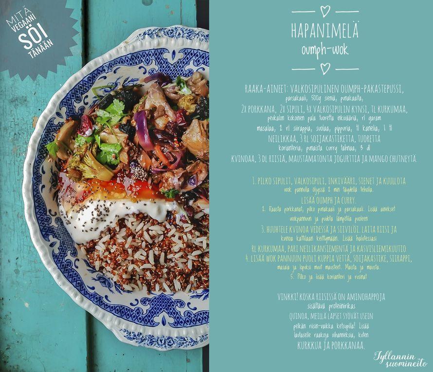 VINKKI: Herkullinen wok-ruoka koko perheelle!