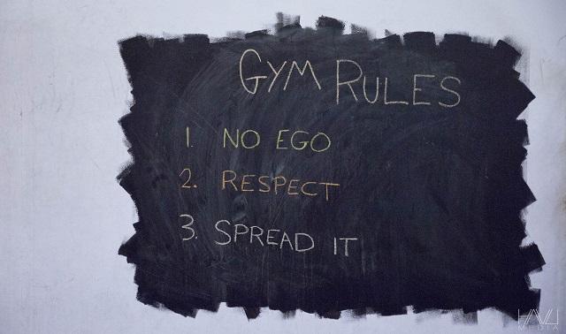 Reebok CrossFit - Gym Rules