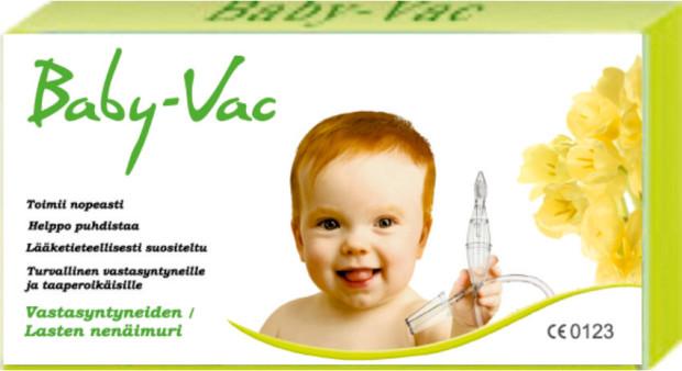 babyvac-pakkaus