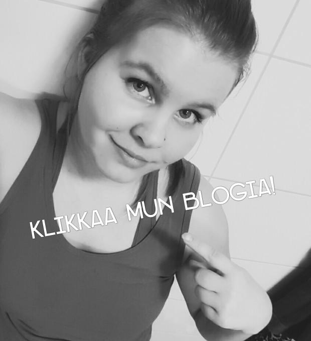 Klikkaa mun blogia!
