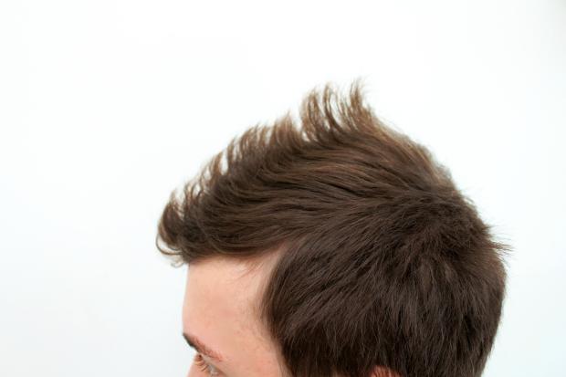 Miesten hiukset Elivo testaus