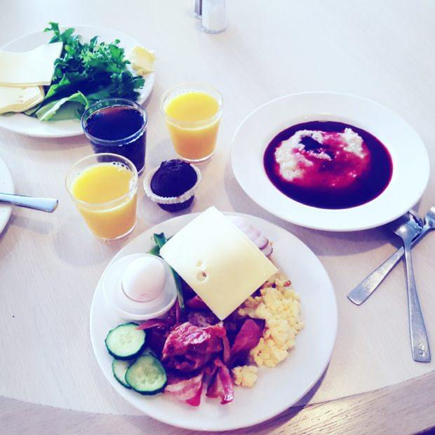 Silja Line ruoka Buffet