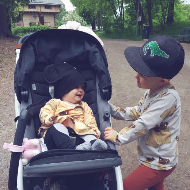 Lapset mini rodini mopsi