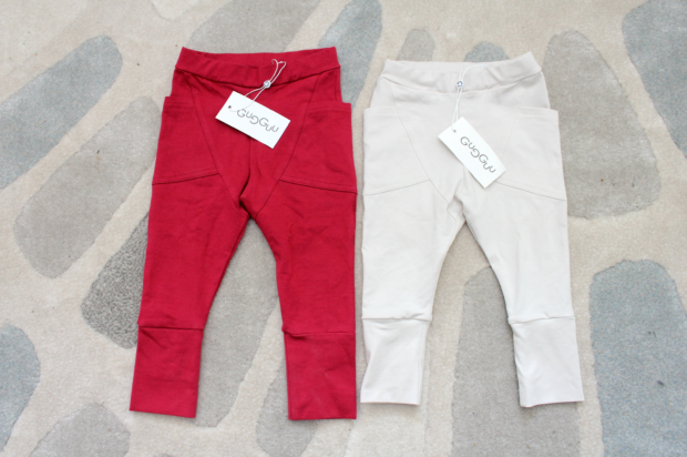 Gugguu pants winered whiteberry