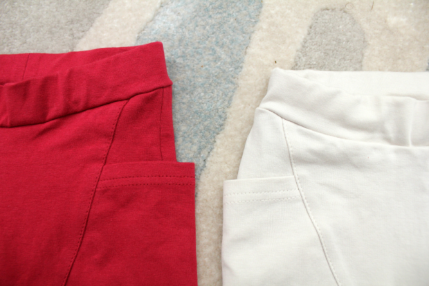gugguu whiteberry winered pants