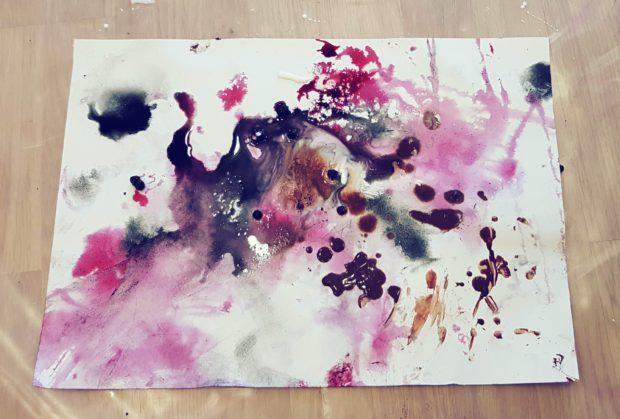 Vauvan maalaus