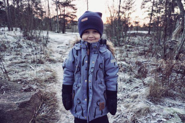Poika talvi mini rodini