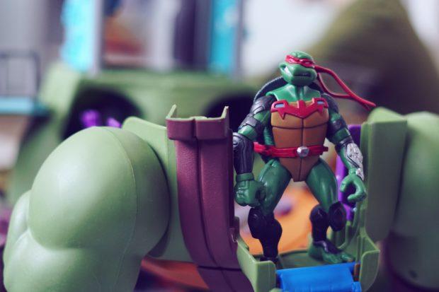 Turtles hahmot