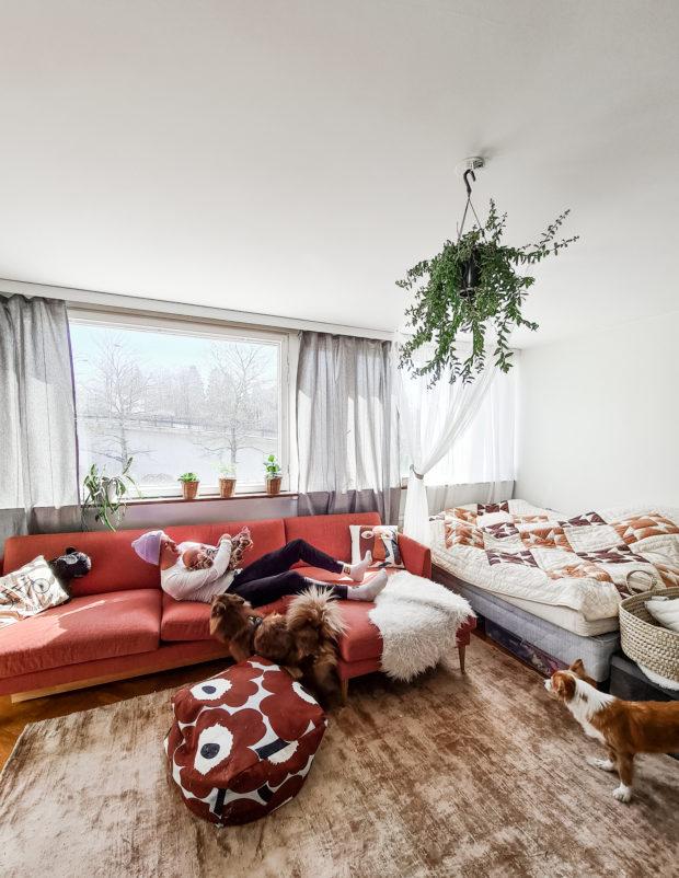 Uusi sohva ikea