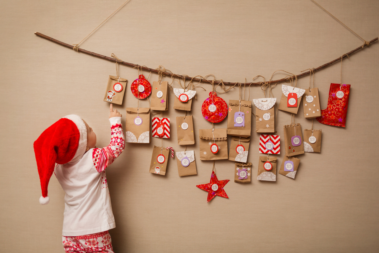 joulukalenteri taaperolle
