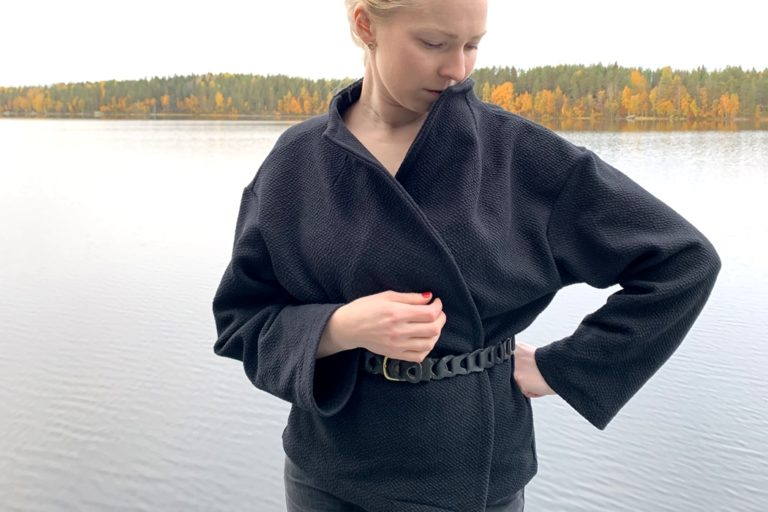 Jakku Wrapped in wool -kaavalla