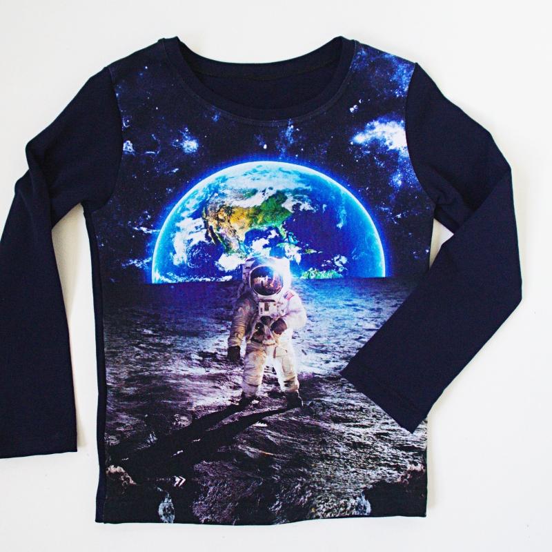 avaruus paita lastenvaatteet