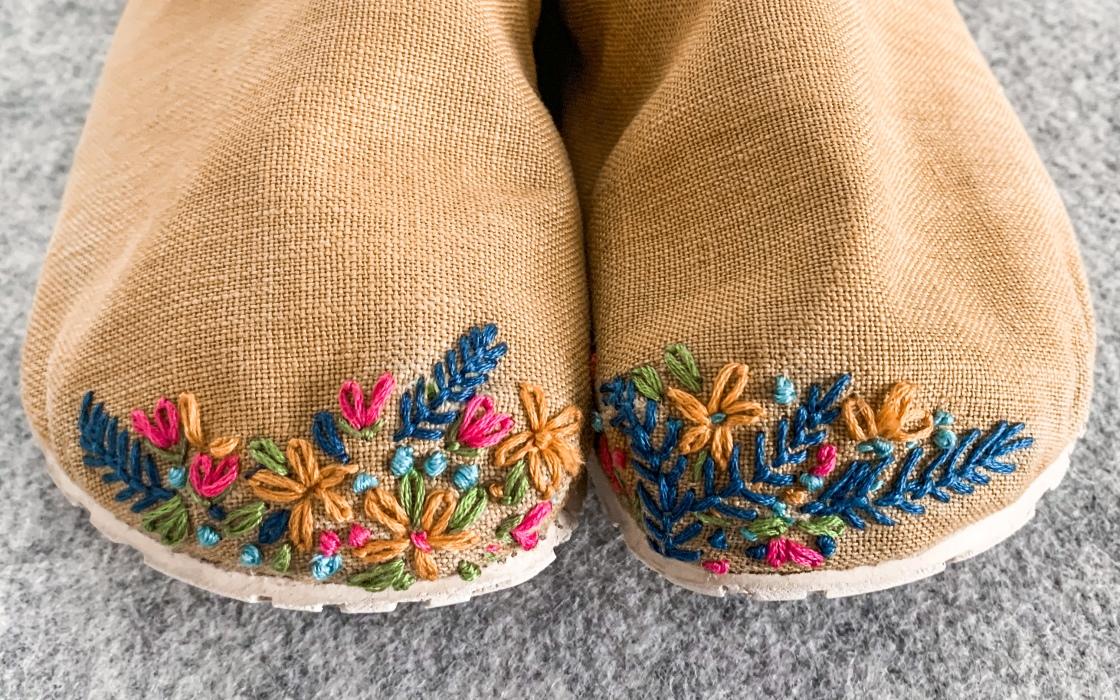 kirjonta korjaus kengät