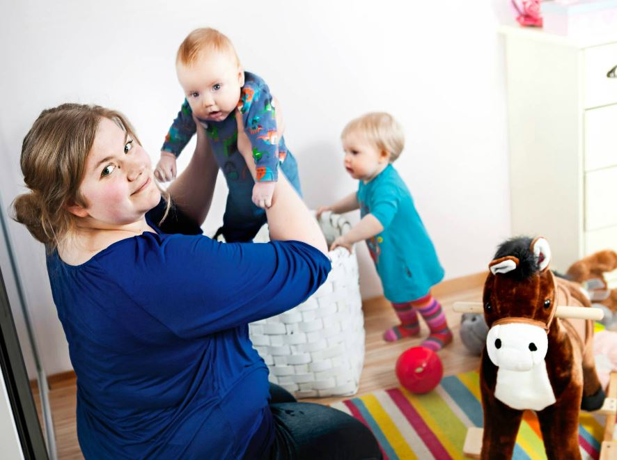 Henna Holma sai kaksi lasta, Eevin ja Aten, vuoden sisään, toisen tammikuussa ja toisen joulukuussa.