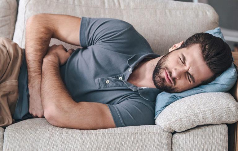 Myös miehillä voi olla oireita raskaudesta