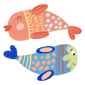 Lapsihoroskooppi: kalat