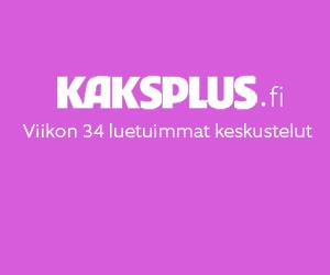 Kaksplus.fi: Viikon 34 luetuimmat keskustelut