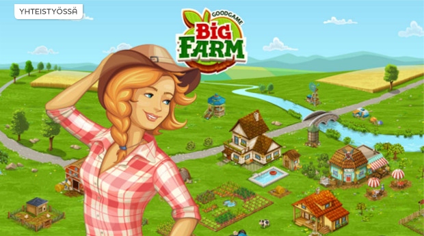 Perusta oma maatilasi Big Farm -pelissä!