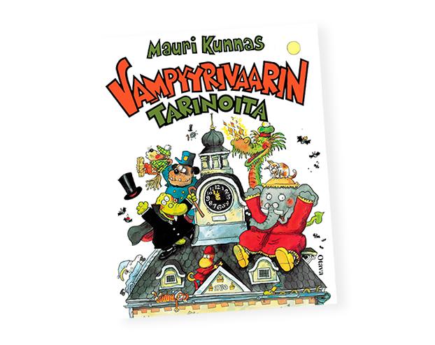 Mauri Kunnaksen Vampyyrivaarin tarinoita, Otava.