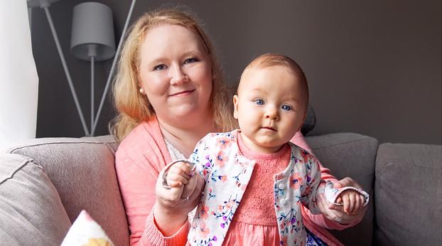 äidiksi vaikeasta munuaissairaudesta huolimatta