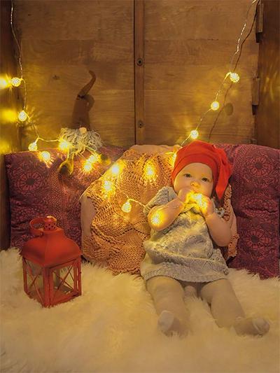Fionan ensimmäinen joulu, Monika Nygård