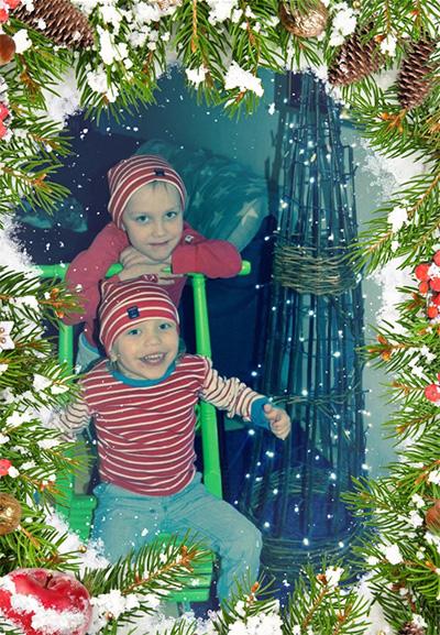 Tonttupojat Joel 6v ja Emil 3v, Anna Hietikko