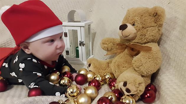 Joel 3,5kk ja joulukorttikuvaus, Johanna Lindqvist