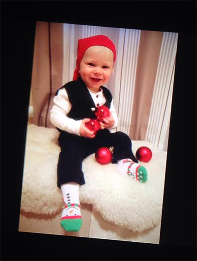 1-vuotias tonttu, Anniina Erkkilä
