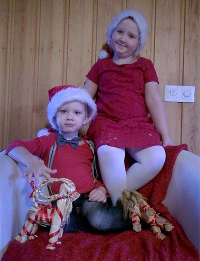 Äidin pienet, 3- ja 4-vuotiaat tontut, Virpi Miettinen