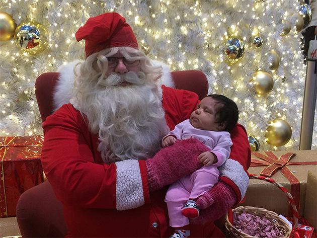 Pikku Faithin (9vko) ensimmäinen joulu, Niina Stenroos