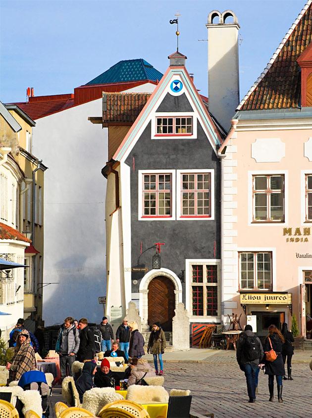 Päiväristely Tallinnaan