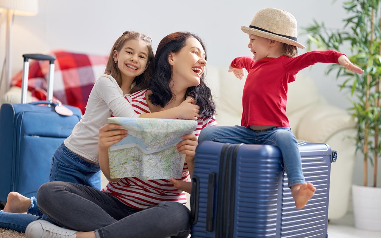 Mitä mukaan matkalle lasten kanssa?