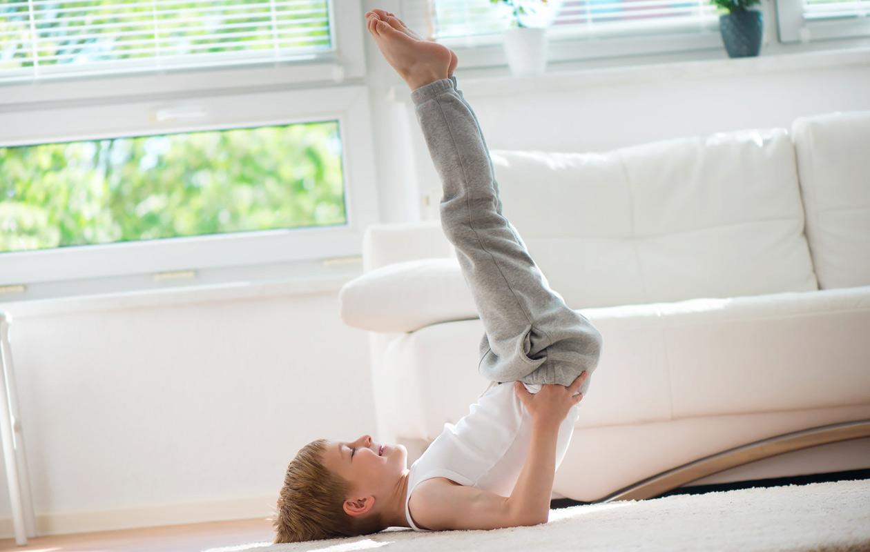 Mitä hyötyä joogasta on lapselle?