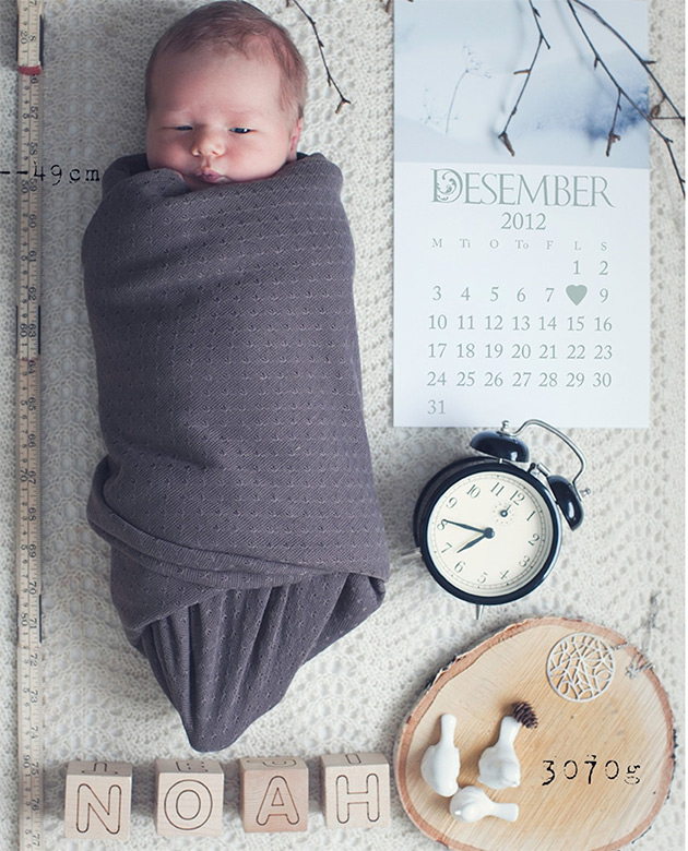 Syntymäilmoitus, Charlotte Rosenhoff