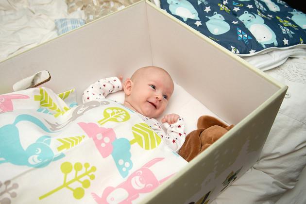 Äitiyspakkaus 2016: laatikko