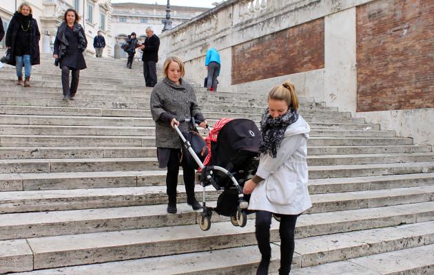 Rooma on tuhansien portaiden kaupunki.