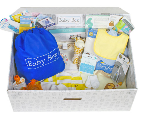 Kaksplus Baby Box Co Äitiyspakkaus