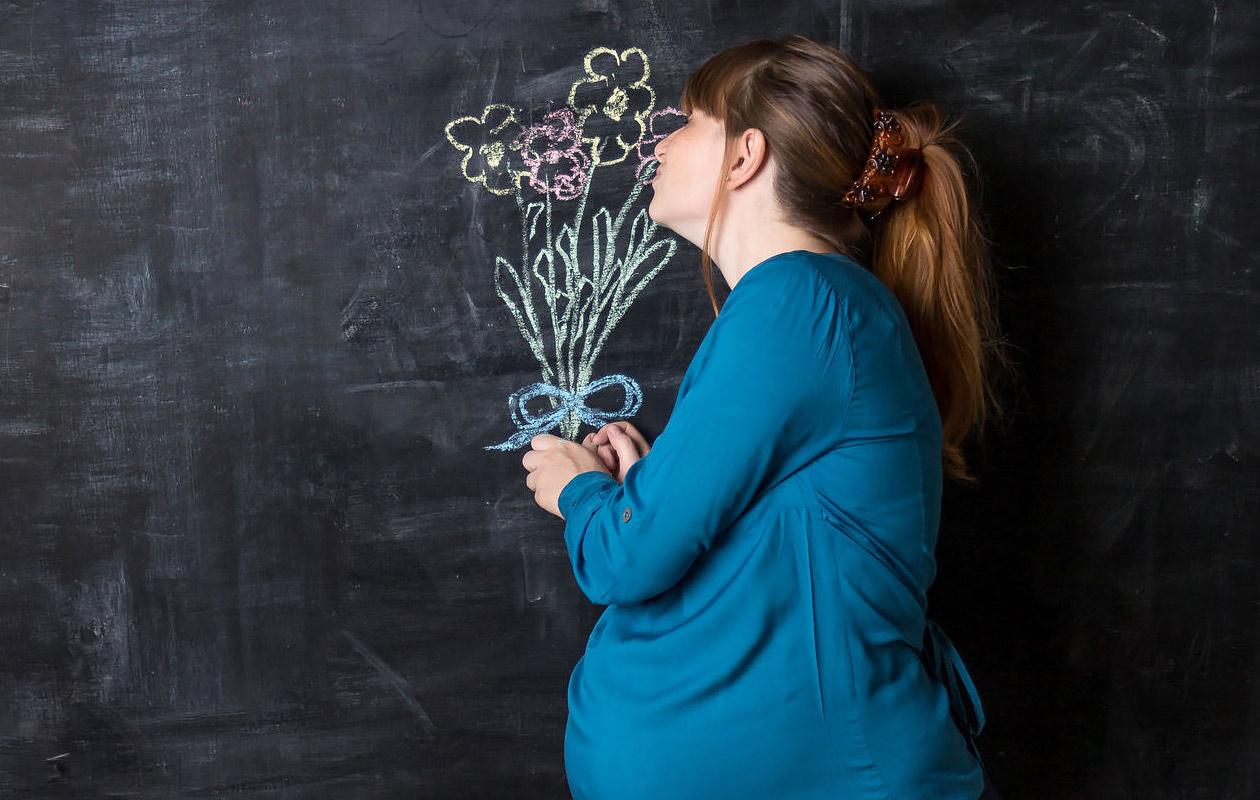 Kun raskaana oleva himoitsee outoja asioita