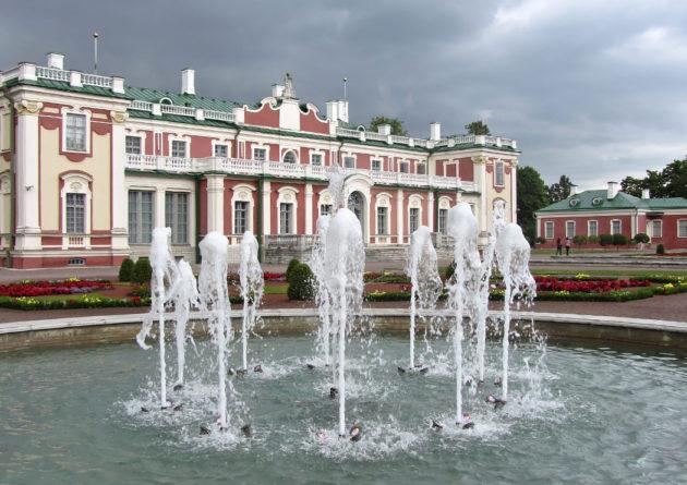 Kadriorgin palatsi Tallinnassa