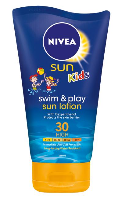 Nivea Sun Kids Swim&Play Sun Lotion