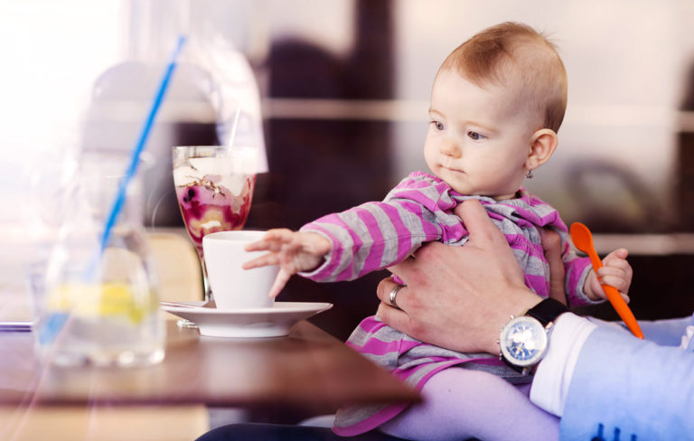 Vauvan kanssa Helsingissä