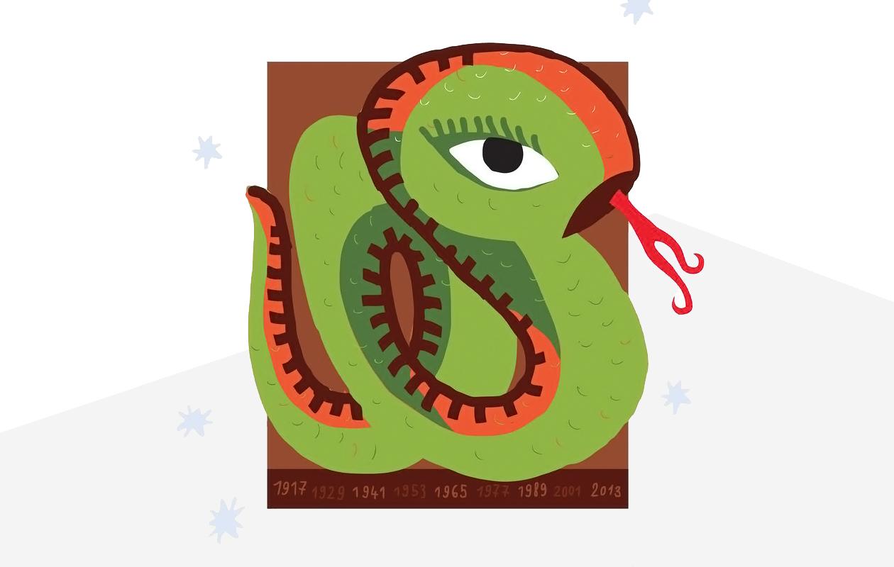 Kiinalainen lapsihoroskooppi: Käärme