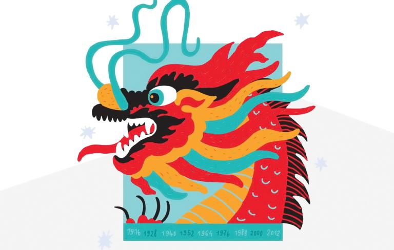 Kiinalainen lapsihoroskooppi: Lohikäärme