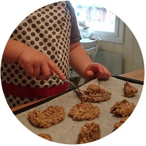 Leivotaan keksejä
