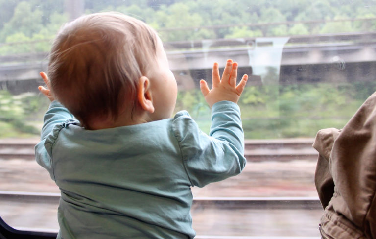 Vauvan kanssa reppureissulla Euroopassa